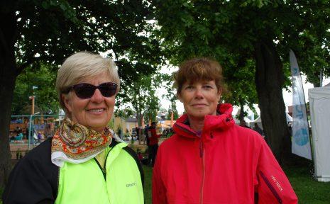 Solveig Walfridsson och Kristina Linsmeier