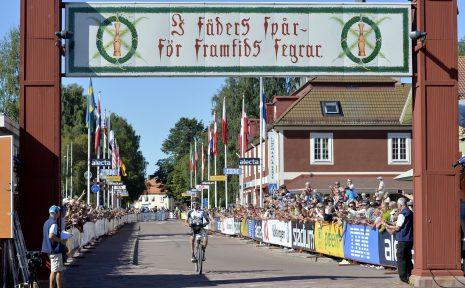 Mora 150815 Målgång CykelVasan  Foto Nisse Schmidt
