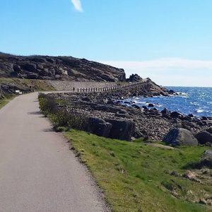Där bakom kröken väntar Varbergs kusthotell och en helg fylld av cykellycka på Crescents cykelläger.