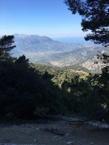 Efter 14km klättring...