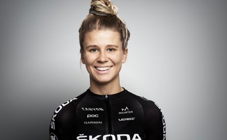 Agnes Maltesdotter är en av alla uttagna som skulle cykla Vätternrundan tillsammans med Škoda Cycling Team.