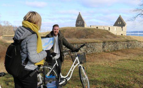 Spännande familjeäventyr på cykel på vackra Visingsö