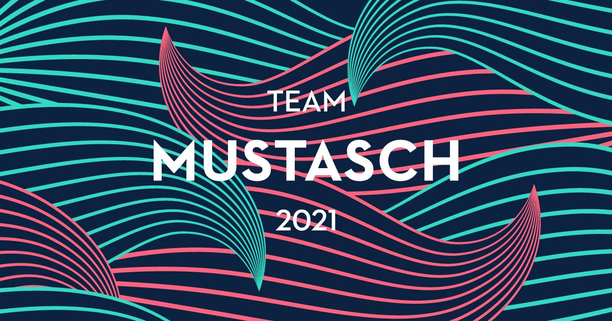 Team Mustasch på Vätternrundan.