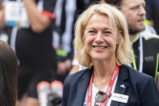Gunilla Brynell-Johansson, vd för Vätternrundan.