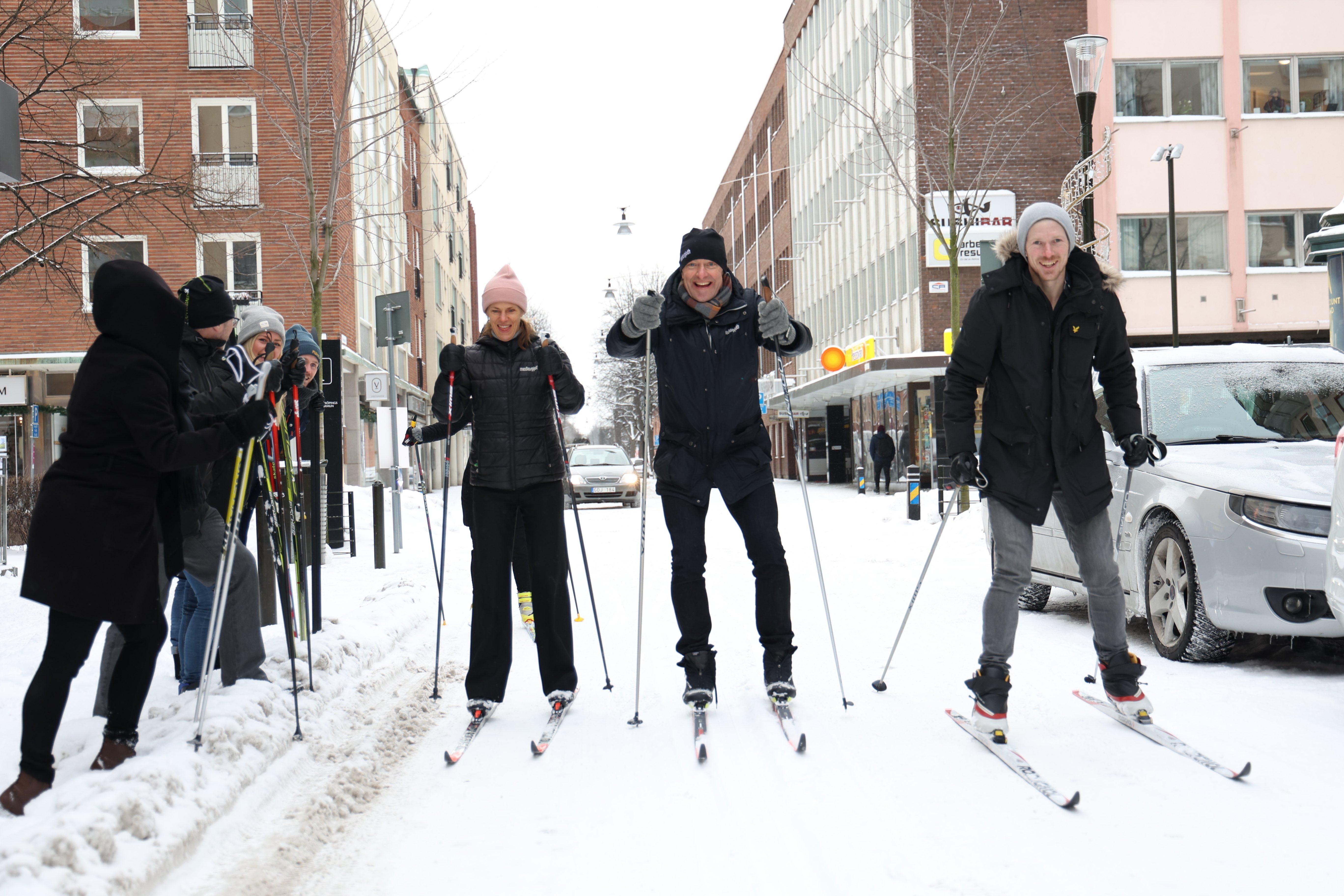 Pierre Henriksson skidar ICA-Klassikern