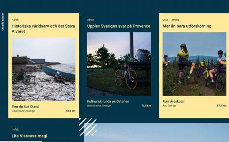 Cyclists best är sajten som ska samla de bästa svenska cykelrundorna.