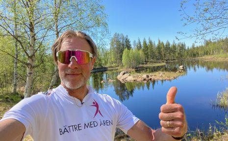 Stefan Wendt cyklade genom Sveriges alla landskap