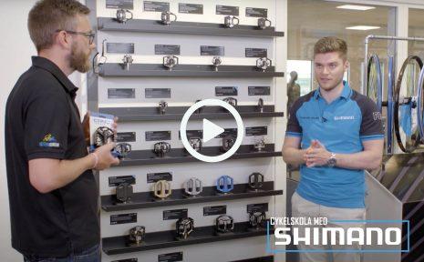 Cykelskola med Shimano – pedaler