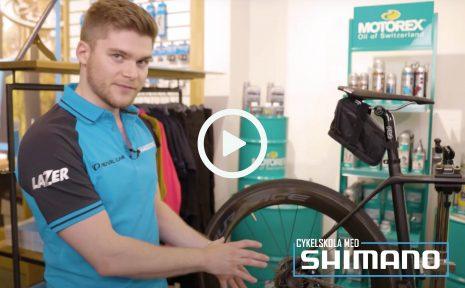 Cykelskola med Shimano – rengöring