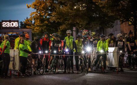 Cykla i mörker