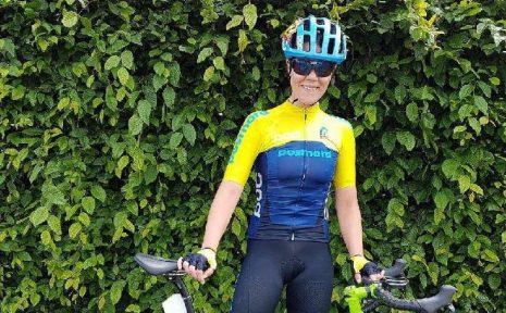 Anna Beck tog silver i tempoloppet i Paralympics.