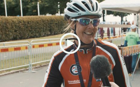 Mer än 1 300 cyklister stod på startlinjen i årets upplaga av Halvvättern. En av dem var Christine Stafström. – Det var väldigt fint, och en roliga bana.